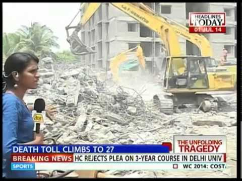Chennai building collapse: Soil condition was unsuitable for construction