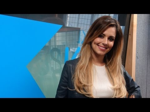 Cheryl Cole talks 'Crazy Stupid Love' at KISS FM (UK)