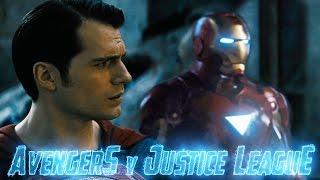 Avengers v Justice League Announcement Fan Trailer