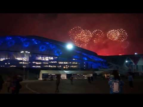 Sochi Winter Olympics 2014 - Closing Ceremony Fireworks | by Go East