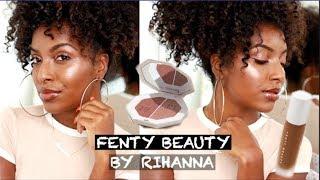 FULL FACE OF FENTY BEAUTY! (YASSS RIHANNA!!!)