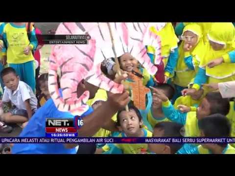 Syamsudin, Pendongeng yang Edukasi Anak Anak Cintai Lingkungan dan Satwa asal Yogyakarta - NET16