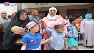 تواصل احتجاجات آباء و أولياء الأطفال المعاقين ذهنيا | روبورتاج