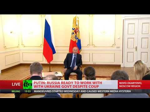 Putin: Annexing of Crimea out of question