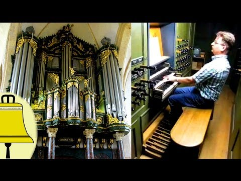 Pieter Pilon Plays: Purcell 'Trumpet Tune' on the Schnitger-organ of the Martinichurch at Groningen