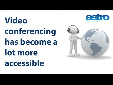 Video conferencing technology becoming more accessible?