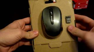 Microsoft Wireless Mobile Mouse 3500 Unpacking