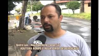 Copasa admite redu��o da press�o na rede e bairros reclamam de cortes de �gua