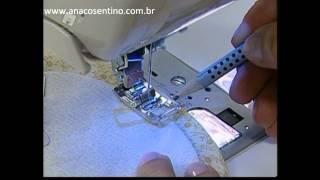Patchwork Ana Cosentino: Bloco Curvas II (Ateliê Na Tv