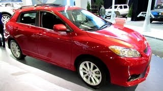 2013 Toyota Matrix XRS - Exterior and Interior Walkaround - 2013 Montreal Auto Show