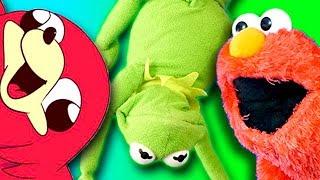 Elmo and Kermit The Frog Know DE WAE!