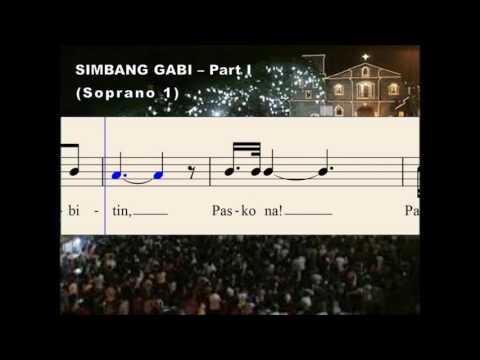 Q31a Simbang Gabi - Part I (Soprano 1)