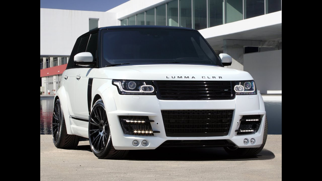 Top Review- 2014 LUMMA Design CLR RS Range Rover Sport - YouTube