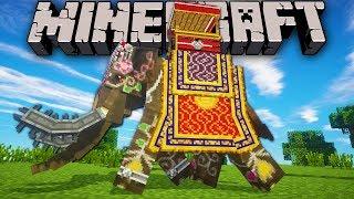 Minecraft: Zoo Keeper - Elephant Bulldozer Ep.18 Dragon Mounts, Mo' Creatures, Shaders Mod