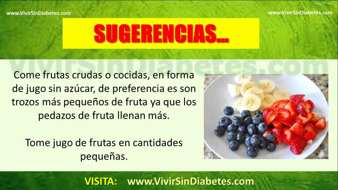 Frutas Recomendadas Para Diabeticos: Descubre Que Frutas