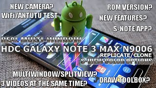 REAL MULTI-WINDOW For The HDC GALAXY Note 3 MAX N9006