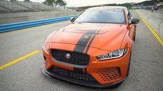 Jaguar XE SV Project 8 - Rolex Monterey Motorsport Reunion!. MotorTrend.