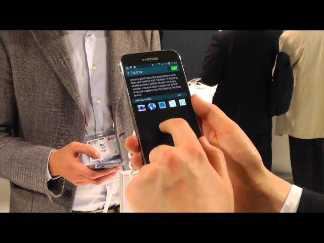 Galaxy S5 'Toolbox' feature hands-on