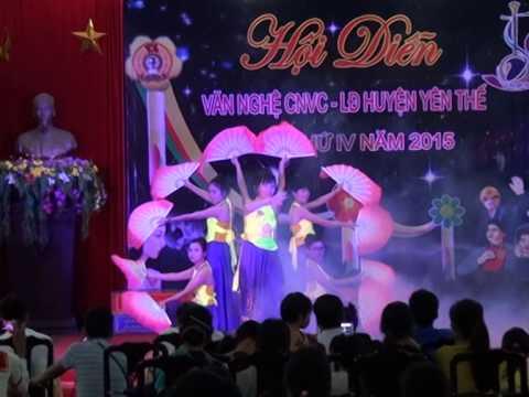 Múa nét duyên Việt - Công đoàn Phòng TNMT huyện Yên Thế - Bắc Giang