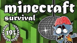 """Minecraft Survival - Aflevering 193 """"Zombie PARTY!"""""""