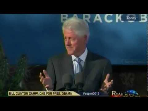 President Bill Clinton on the Real Mitt Romney
