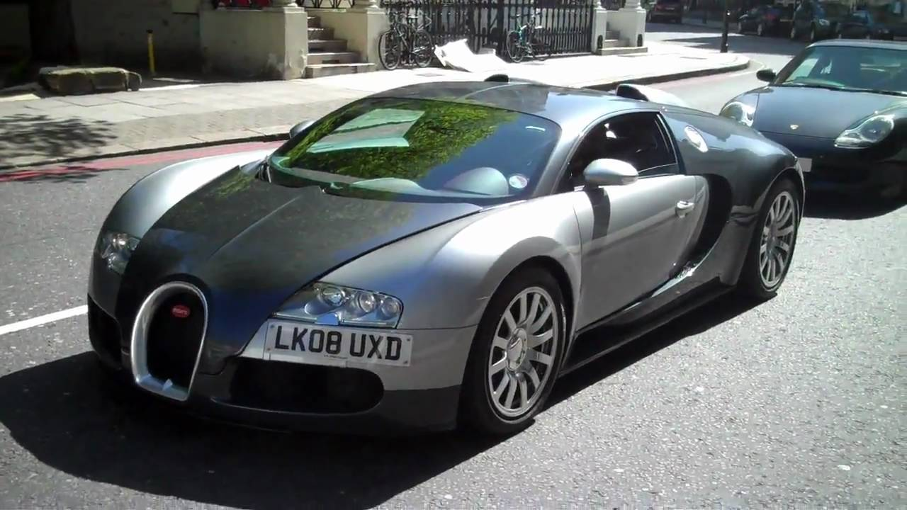 bugatti veyron in london rare uk plate youtube. Black Bedroom Furniture Sets. Home Design Ideas