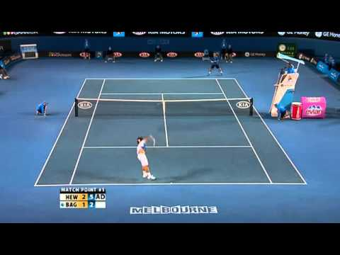 Australian Open 2008 - 3rd Round - Marcos Baghdatis vs Lleyton Hewitt - Highlights