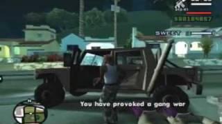 GTA: San Andreas Ps2 100 Beat Down On B Dup