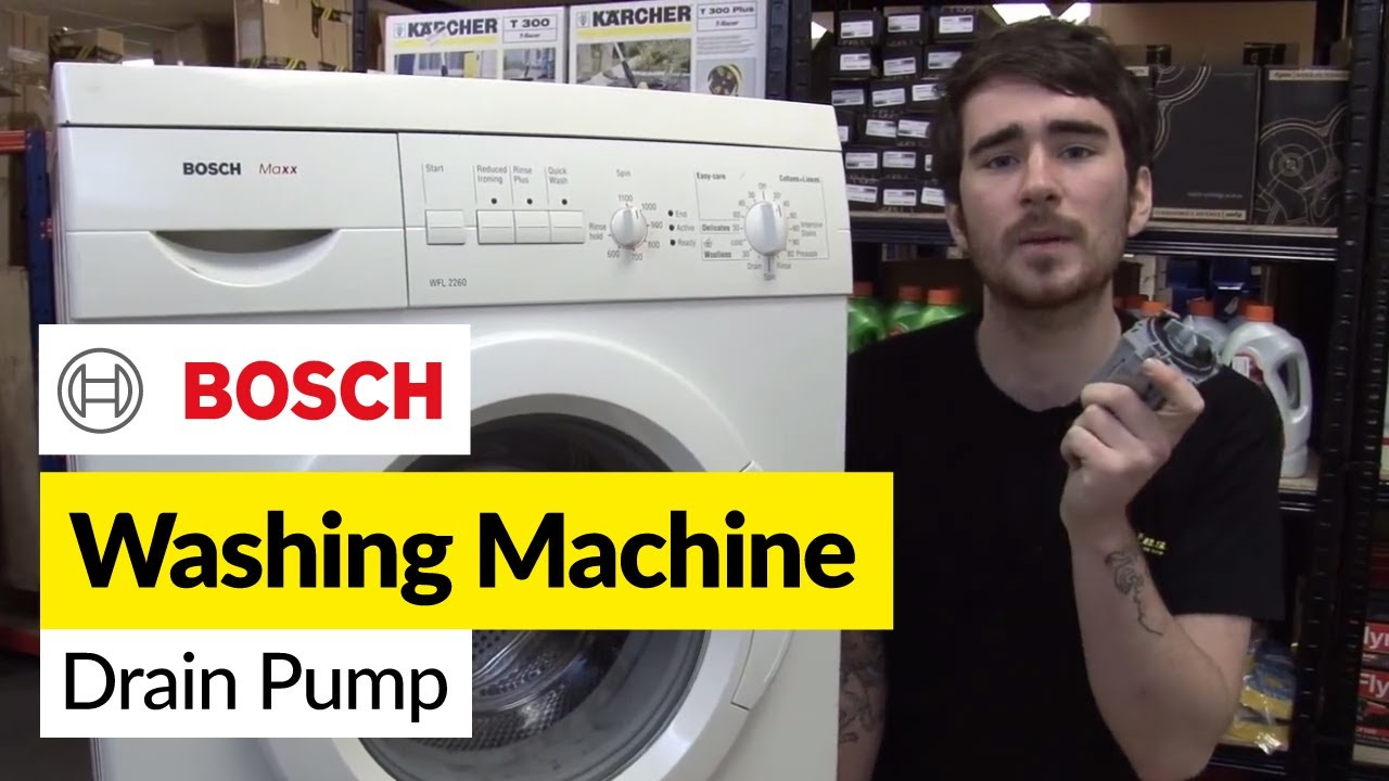 hotpoint washer wiring diagram how to replace washing machine pump on a bosch    washer     how to replace washing machine pump on a bosch    washer