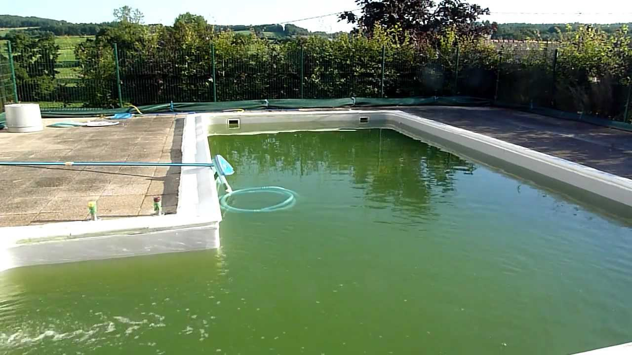 How To Clean A Green Swimming Pool Part 2 Youtube
