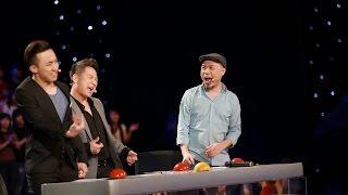 """Vietnam's Got Talent 2016 - Nam thanh niên """"Giải cứu thế giới"""" và câu slogan mới """"bình tĩnh sống"""""""