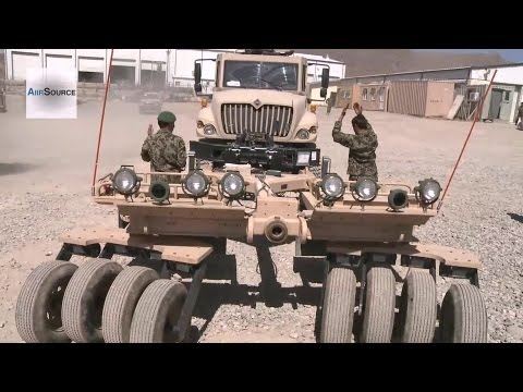 Afghan National Army's Up-armored Mobile Tactical Vehicles (UAMTV) | AiirSource