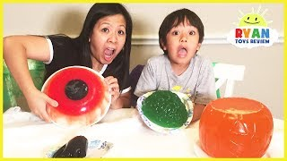 Halloween Gummy Food vs Real Food challenge!
