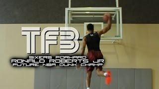 Ronald Roberts JR Future NBA Dunk Champion Crazy Dunk