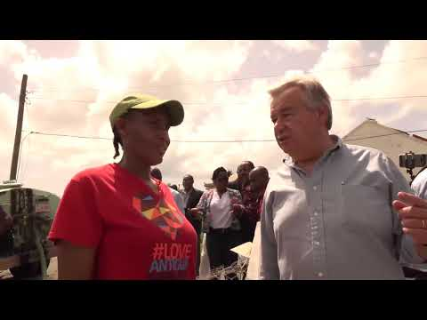 Hurricane-ravaged Barbuda: UN chief urges solidarity