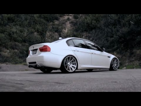 Bmw M3 E90 On 20 Vossen Vvs Cv4 Concave Wheels Rims