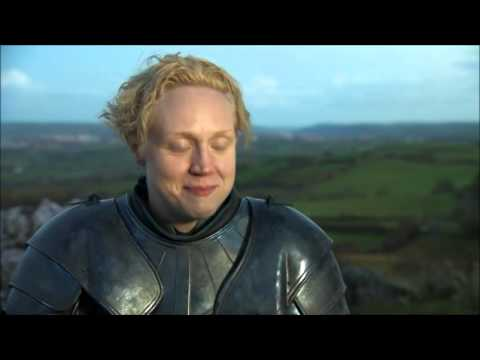 Gwendoline Christie about biting ears