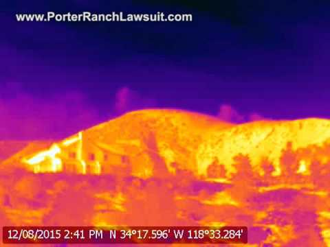 Porter Ranch Methane Gas Leak Video