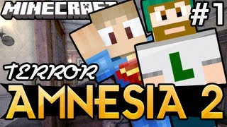TERROR NO MINECRAFT !! : AMNESIA 2 ft. LEON !! - MINECRAFT