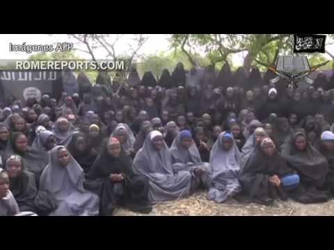 Terroristas de Boko Haram muestran en un nuevo vídeo a las menores secuestradas