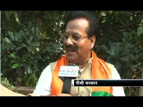 Battleground 2014: Vote Yatra with Barasat BJP candidate PC Sorcar