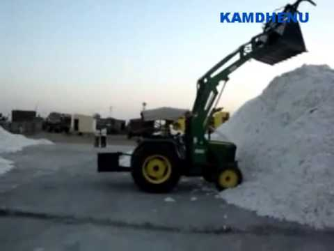 kamdhenu cotton Loader with Grabber Bucket