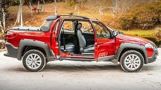 LANÇAMENTO Nova Fiat Strada 2014 3 Portas