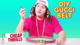 D.I.Y. Gucci Belt   Cheap Thrills