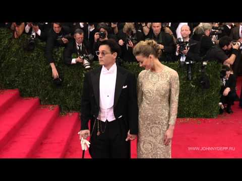 Johnny Depp, Amber Heard arrive at