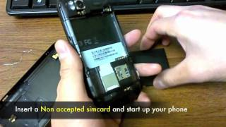 How To Unlock HTC Sensation 4G (XE & XL) Sim Network