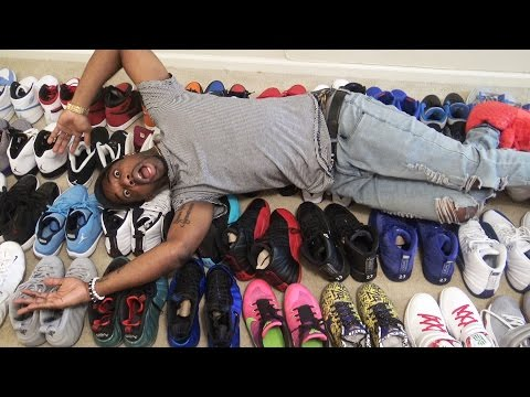 MY ENTIRE UPDATED SNEAKER COLLECTION! 70+ SHOES! HEAT! JORDANS LEBRONS!