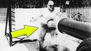 THE ONLY MAN WHO WAS ABLE TO SURVIVE A CANNONBALL SHOT