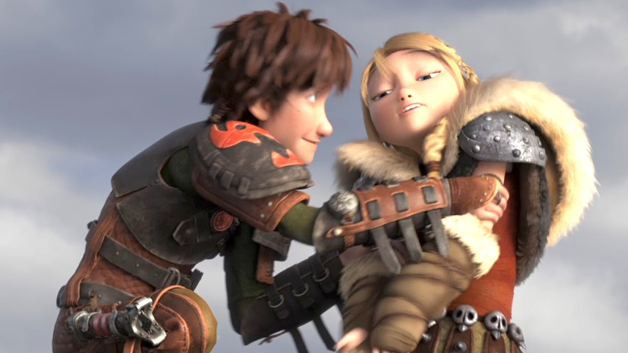 Maxresdefault Jpghow To Train Your Dragon 2 Hiccup And Astrid Kiss