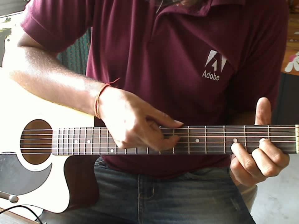Pani Da Rang - Guitar Lesson - NJNE - YouTube
